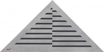Alcaplast TIME - Rošt pro rohový podlahový žlab ARZ1 (nerez mat)
