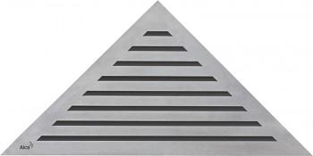 Alcaplast LIFE - Rošt pro rohový podlahový žlab ARZ1 (nerez mat)
