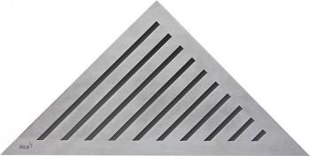 Alcaplast GRACE - Rošt pro rohový podlahový žlab ARZ1 (nerez mat)