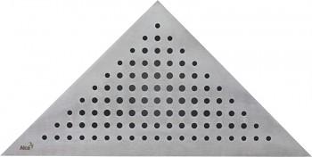 Alcaplast TRITON - Rošt pro rohový podlahový žlab ARZ1 (nerez mat)