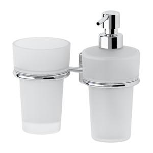 Santech Allianz Esperado - ESP 008 - Držák skleničky a dávkovače mýdla (sklo)