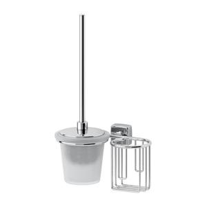 Santech Allianz Esperado - ESP 059 - Toaletní štětka s krytem a držák osvěžovače vzduchu