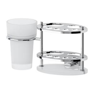 Santech Allianz Esperado - ESP 061 - Držák pasty, kartáčků a skleničky (sklo)