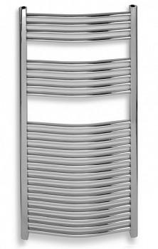 Novaservis 600/1600,0 + DOPRAVA ZDARMA - Koupelnové otopné těleso oblé - chrom