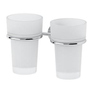 Santech Allianz Nostalgy - NOS 007 - Držák skleničky - dvojitý (sklo)