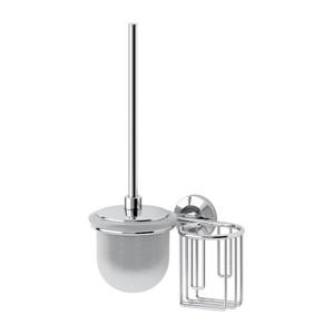 Santech Allianz Standard - STA 059 - Toaletní štětka s krytem a držák osvěžovače vzduchu