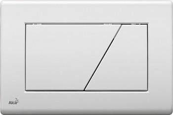Alcaplast Alcatlačítko M170 - Ovládací tlačítko pro předstěnové instalační systémy bílé