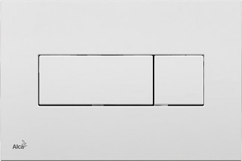 Alcaplast Alcatlačítko M370 - Ovládací tlačítko pro předstěnové instalační systémy bílé