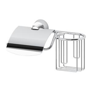 Santech Allianz Vizovice - VIZ 053 - Držák toaletního papíru s krytem a držák osvěžovače vzduchu