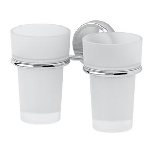 Santech Allianz Luxia - LUX 007 - Držák skleničky - dvojitý (sklo)