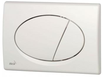 Alcaplast Alcatlačítko M70 - Ovládací tlačítko pro předstěnové instalační systémy bílé