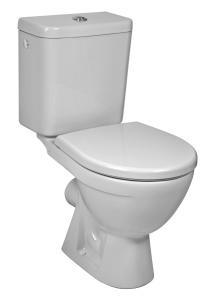Jika Lyra Plus - Kombi WC, vodorovný odpad, hluboké splachování, boční napouštění