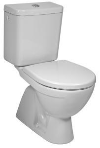 Jika Lyra Plus - Kombi WC, svislý odpad, hluboké splachování, boční napouštění
