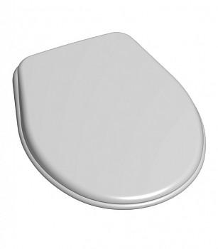 WC Sedátko SLOVPLAST P-3557 ROYAL - univerzální bílé, masivní DUROPLAST