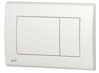 Alcaplast Alcatlačítko M270 - Ovládací tlačítko pro předstěnové instalační systémy bílé