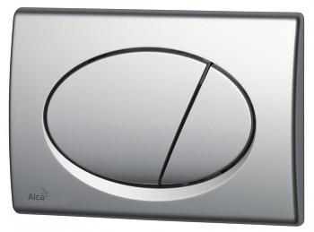 Alcaplast Alcatlačítko M72 - Ovládací tlačítko pro předstěnové instalační systémy chrom-mat