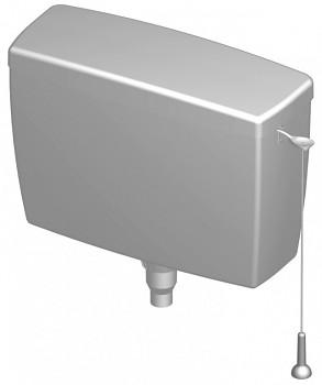 Splachovací WC nádržka vysokopoložená T-2454