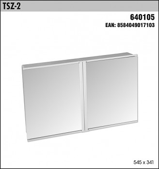 Toaletní skříňka SLOVPLAST TSZ-2