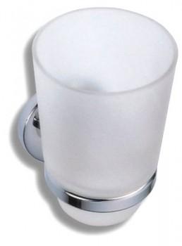 Novaservis Novatorre 1 - 6106,0 - Držák kartáčků sklo chrom