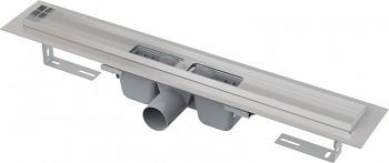 Alcaplast APZ1-550 - Podlahový žlab s okrajem pro perforovaný rošt