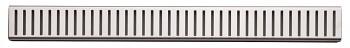 Alcaplast PURE-550L - Rošt pro liniový podlahový žlab (nerez lesk)