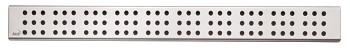 Alcaplast CUBE-650L - Rošt pro liniový podlahový žlab (nerez lesk)