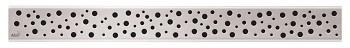 Alcaplast BUBLE-550L - Rošt pro liniový podlahový žlab (nerez lesk)