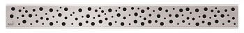 Alcaplast BUBLE-750L - Rošt pro liniový podlahový žlab (nerez lesk)